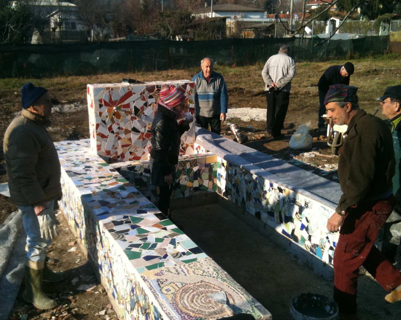 La fontana - Giardino degli orti