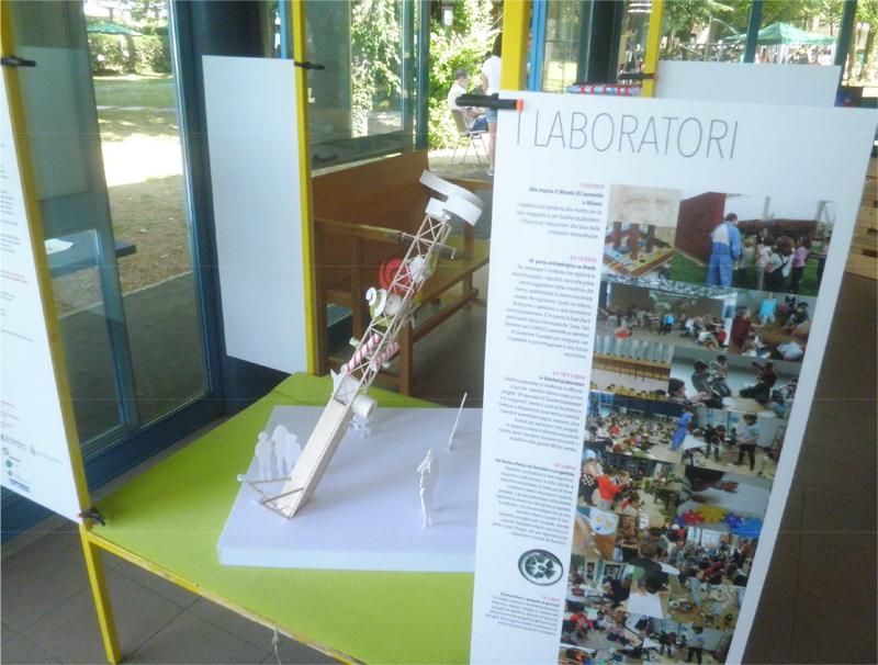 Immagine fotografica della mostra del progetto: Il giardino delle macchine