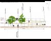 La sezione della struttura - via Dante - Liscate